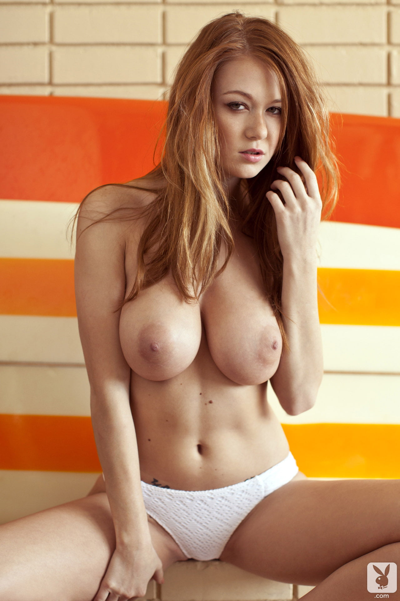 Leanna Decker Redhead Babe With Big Natural Tits-6142