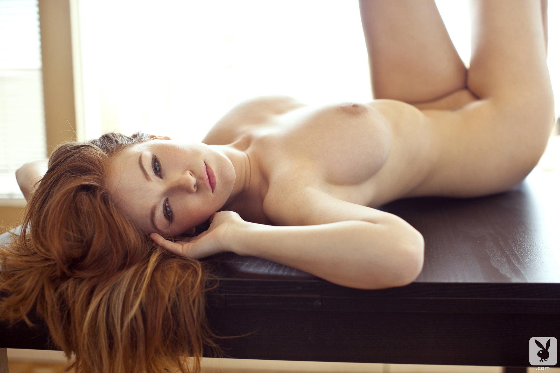 Leanna Decker Redhead Babe with Big Natural Tits