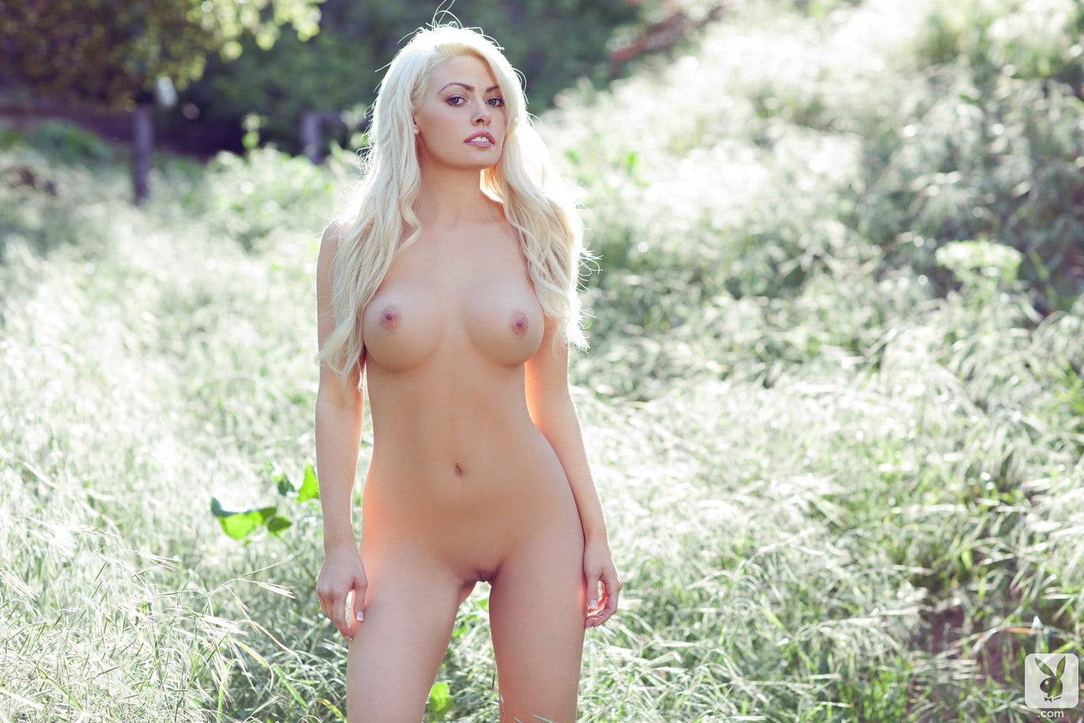 Jayden Marie Blonde Babe Nude Outdoors-9065